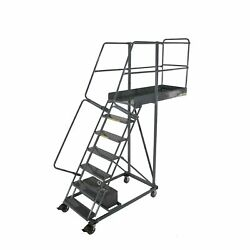 Ballymore Rolling Ladder Capacity 300 Lb Height 100 In. Steel