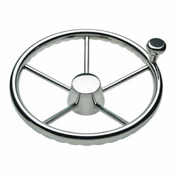 Schmitt And Ongaro 170 13.5 Stainless 5-spoke Destroyer Wheel W/ Stainless Cap And