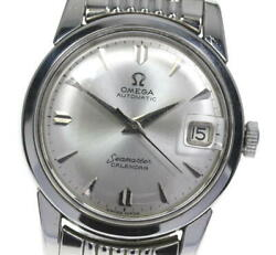 Omega Seamaster Rice Breath Cal.503 28491 Sc Automatic Winding Mens Secondhand