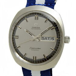 Omega Menand039s Watches Seamaster Cosmic Antique Ss Grey Mw1166 Price Including Tax