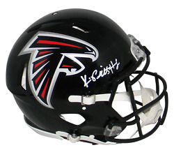 Kyle Pitts Autographed Signed Atlanta Falcons Authentic Speed Helmet Beckett