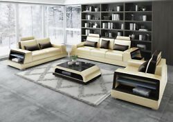 Modern Sofa Set Couch Sofa Sets Group 311 Seat Leather Sofa Sofas New