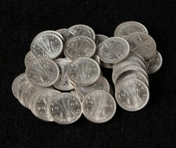 Australia 1964 3d Threepence. 40 Coins Mostly Unc Some Choice Unc