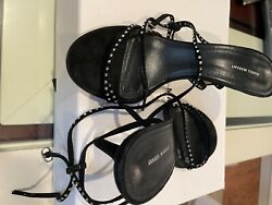 Isabel Marant Sandals In Black Size 7, Comes With Receipt, Box And Dust Bag