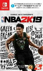 Nba 2k19 Nintendo Switch Games Japanese/english/french/other Tracking New