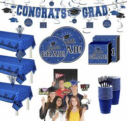 Party City Ultimate Congrats Grad Graduation Party Kit For 100 Guests