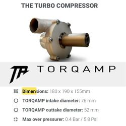 Torqamp 5.8psi Electronic Blower V1.6 May2021 Torque Amp With 48v Battery Pack