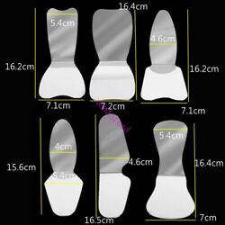 Dental Foldable Mouth Mirror Intraoral Reflector Mirrors Stainless Steel 2 Side