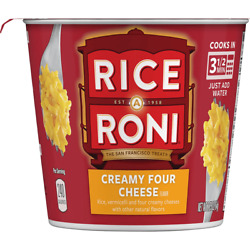 Rice-a-roni Creamy Four Cheese Individual Cups 12 Ct.