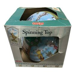 Classic Pooh Spinning Top Vintage Toy By Schylling New Old Stock Original Box