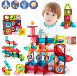 110 Pcs Magnetic Tiles Building Blocks Toy Educational Construction For Toddlers