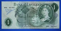 Bank Of England One Pound £1, Hollom Replacement M88 Banknote [22427]