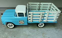 Vintage Nylint Chase Sanborn Coffee Ford Pickup Truck From 1960 Aqua 14andrdquo Long