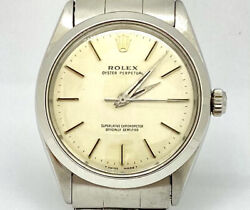 Rolex Oyster Perpetual Ref. 1003 Silver Dial