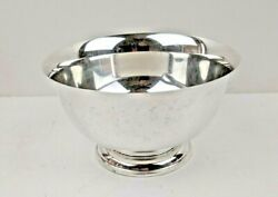 Lunt Classic Sterling Silver 5 Paul Revere Reproduction Bowl 5-r Circa 1768