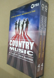 Country Music A Film By Ken Burns 8-disc Dvd Brand New Region 1