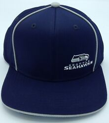 Nfl Seattle Seahawks Adidas Youth Snap Back Cap Hat Beanie New
