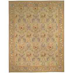 Safavieh Hand-knotted French Aubusson Beige Wool Rug Multi 12and039 X 18and039