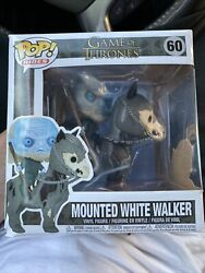 Funko Pop Rides - Game Of Thrones Mounted White Walker 60 Vaulted