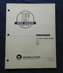 1953 Harry Ferguson Te20 To20 To30 Tractor I And T Shop Repair Manual Massey Nice