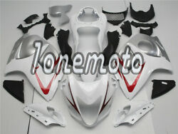 Fit For 2008-2018 Gsx-r 1300 Red White Silver Abs Injection Fairing Plastic Ag