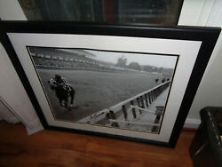 Pickup Only Ron Turcotte Signed Framed Photo Secretariat Horse Racing Autograph