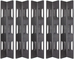 5 Porcelain Steel Heat Plate Shield Parts For Bbq Master Forge B10lg25, Sgl2008a