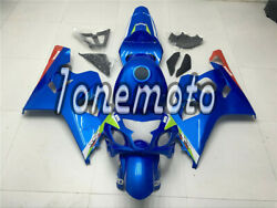 Fit For 2004-05 Suzuki Gsxr 600 750 K4 Abs Injection Blue Complete Fairings Bp