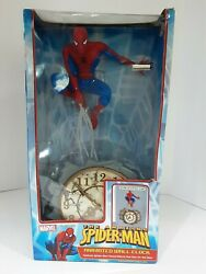 The Amazing Spider-man Animated Wall Clock