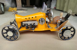 Car Auto Retro From Vintage Sewing Machines Handmade