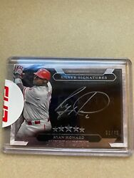 2020 Topps Five Star Ryan Howard Silver Signatures 1/40 First Printed