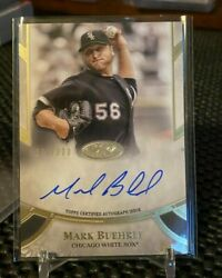 2021 Topps Tier One Mark Buehrle Prime Performers Auto 278/300 - White Sox