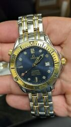 Omega Seamaster Professional 2332.80.00 Steel And 18k Gold Watch 41mm- Complete