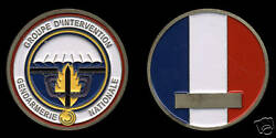 Challenge Coin - Gign - French Police Swat