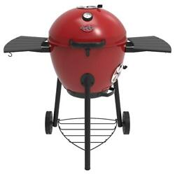 Charcoal Grill 22 In. Cooking Dia. Portable Removable Ash Catcher