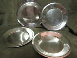 Vintage New Cochran Hotel Silver Plate Lot Of 4 Pieces With Dog/horse Crest