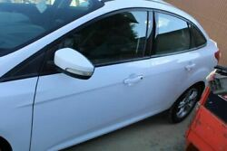 L/f Left Driver Front Door White Paint Code Yz 12-14 Ford Focus Car_rm