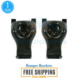 Front Passenger And Driver Side Bumper Support Bracket For 2005-2015 Toyota Tacoma