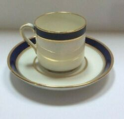 And Co. New York Spode Copeland China England Demitasse Cups And Saucers.