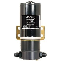 Mallory 29257 Comp Electric Fuel Pump 72 Gph Free Flow 100 Psi -8 An Inlet/outle