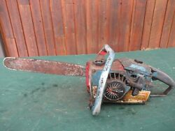 Vintage Homelite Xl-102 Chainsaw Chain Saw With 16 Bar