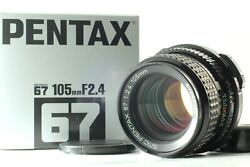 【almost Unused In Box】smc Pentax 67 105mm F/2.4 Late Model For 6x7 67 Ii F Japan