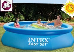 Intel Pool 10and039 X 30 Swimming Ground Inflatable Outdoor Family Time New Free