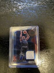 Panini Prizm Sensational Shaquille Oneal Jersey Card