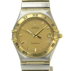 Omega Constellation Lm 33mm 1212.1 Mens Wristwatch Rank Secondhand