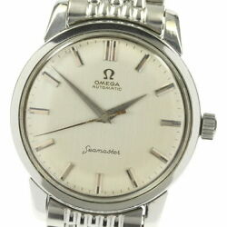 Omega Seamaster 14764-sc-61 Cal.552 Rice Breath Antique Automatic Winding Mens