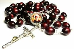 3rd Class Relic Rosary Saint Charbel Sharbel Makhlouf Maronite Monk And Priest
