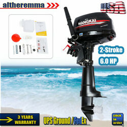 6hp 2-stroke Outboard Motor Fishing Boat Engine Cdi Water Cooling System Hangkai