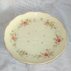 Mikasa Spring Melodies Forever Salad Plate Fv592 9 1/4 Pink Yellow Flowers