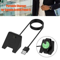 Universal Fast Charging Charger Dock For Garmin Active Fenix6s Smart Watch